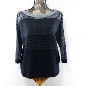 Caslon Womens Sz S Ombre Sweater Wool Pullover